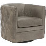 Palazzo Leather Swivel Chair