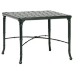 26'' x 26'' Square Cast Top Corner Table