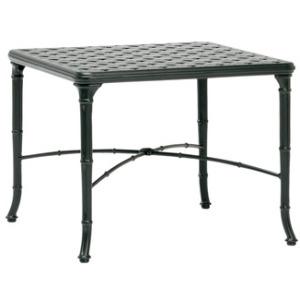 26'' x 26'' Square Cast Top Corner Table