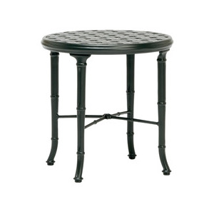 20'' Round Cast Top Occasional Table