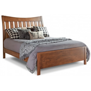 Bedfort Queen Bed w/ Low Footboard - Piece