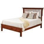Lewiston Queen Slat Bed w/Low Footboard - Piece