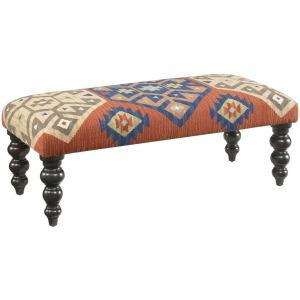Hidden Treasures Kilim Rug Bench