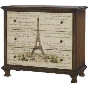 Hidden Treasures Eiffel Tower Chest