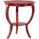 Hidden Treasures Red Flower Table