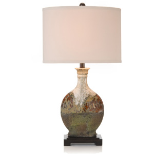 """29"""" Earthy Craft Table Lamp"""