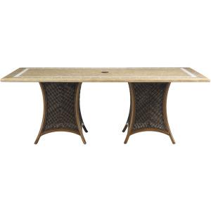 Dbl Pedestal Table Base