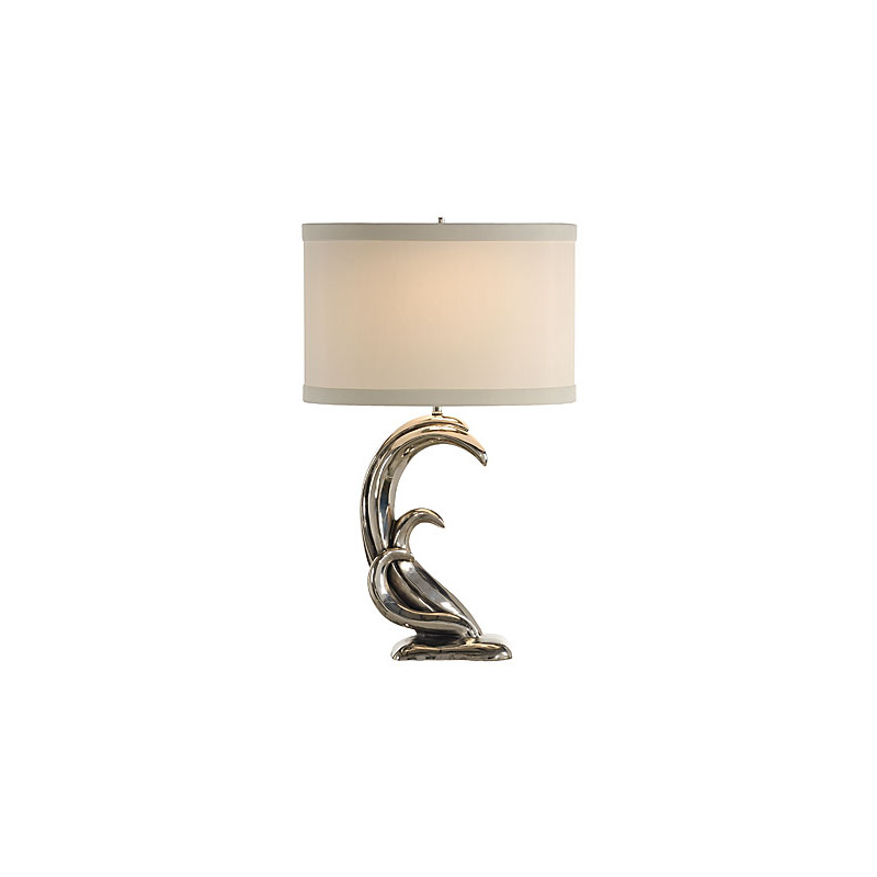 Silver Waves Lamp